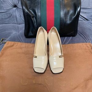 Classic GUCCI Patent Leather heels